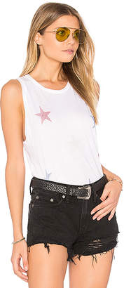 Lauren Moshi Peyton Mini Stripe Stars Tank in White $88 thestylecure.com