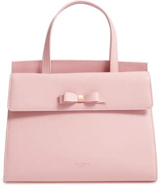92910a02632c Ted Baker Aarilli Bow Leather Satchel