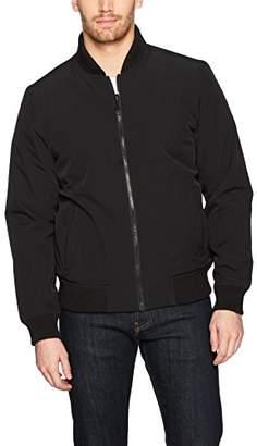 Perry Ellis Men's Reversible Bomber Jacket