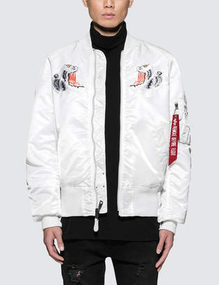 Alpha Industries MA-1 Souvenir Tiger Jacket