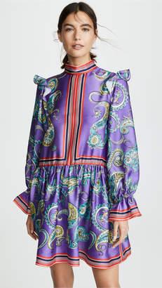 Philosophy di Lorenzo Serafini High Neck Dress