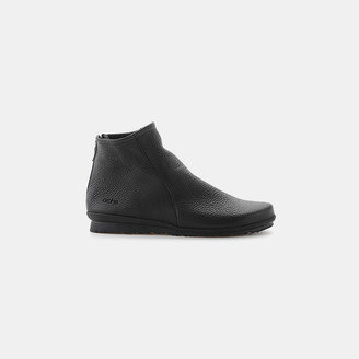 Baryky Deerskin Leather Bootie $395 thestylecure.com