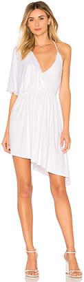 Susana Monaco Crossover Angled Dress