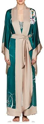 Carine Gilson Women's Floral Silk Kimono