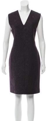 Calvin Klein Collection Tweed Knee-Length Dress