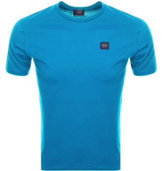Paul & Shark Paul And Shark Short Sleeved Logo T Shirt Blue
