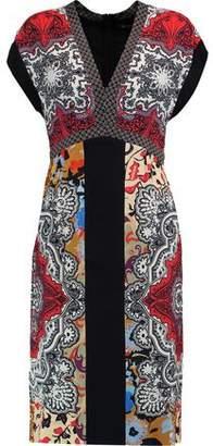 Etro Printed Satin Dress