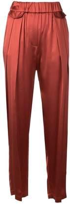 Fabiana Filippi loose-fit pleated trousers