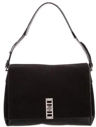 Proenza Schouler Suede & Leather Elliot Shoulder Bag