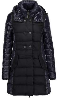 Duvetica Callipatira Quilted Shell And Twill Down Hooded Coat