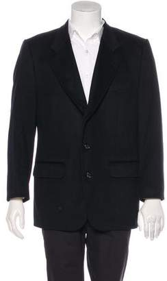 Jacket Cashmere Notch-Lapel Blazer