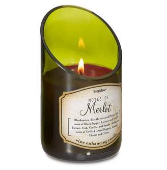 Smart Living Company WINE BOTTLE MERLOT SCENTED CANDLE