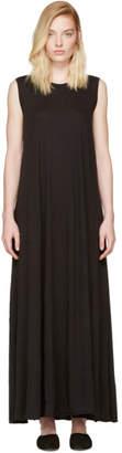 Raquel Allegra Black Drama Maxi Dress