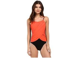 Magicsuit Solids Lisa One-Piece Women's Swimsuits One Piece