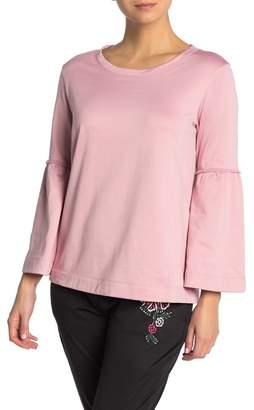 Josie Bell Sleeve Lounge Fleece Sweatshirt