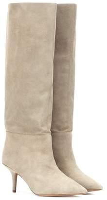 Yeezy Suede knee-high boots (SEASON 7)