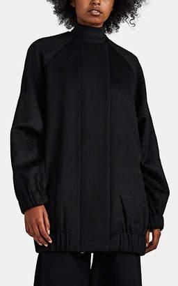 ROUCHA Women's Orabe Wool Melton Coat - Black