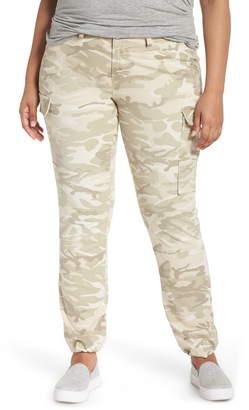 SLINK Jeans Camo Twill Cargo Pants