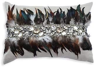 Callisto Home Feather Linen Pillow
