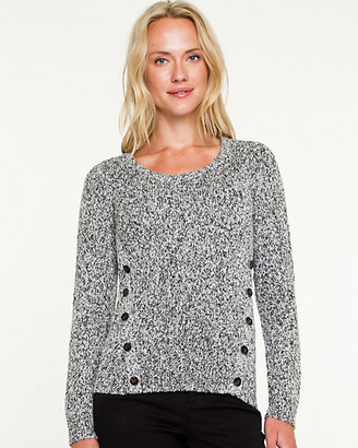 Le Château Wool Blend Scoop Neck Sweater