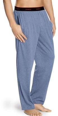 Hanes Men s Logo Waistband Solid Jersey Pants 67b0c0241