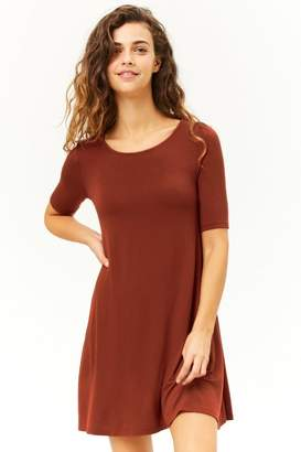 Forever 21 Scoop Neck Swing Dress