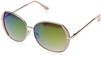 Jessica Simpson Women's J5494 Rgdpk Round Sunglasses