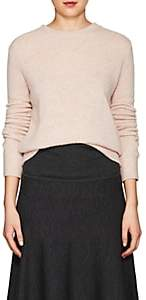 The Row Women's Minco Cashmere-Silk Crewneck Sweater-Pale Pink Mel
