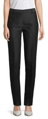 Valentino Wool & Silk Tapered Pants