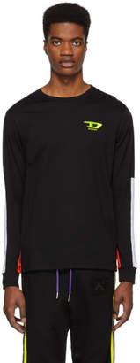 Diesel Black T-Harus Long Sleeve T-shirt