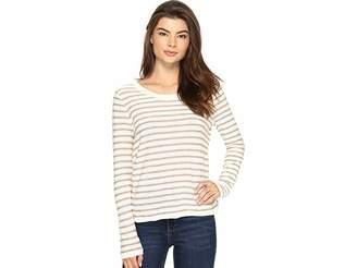 Kensie Flecked Stripe Sweater KS2K5553 Women's Sweater
