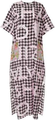 Natasha Zinko houndstooth print dress