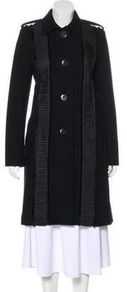 Chloé Knee-Length Button-Up Coat