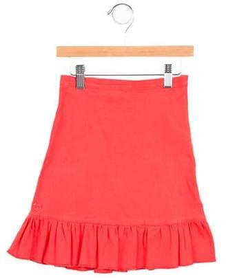 Sonia Rykiel Girls' Denim Gathered Skirt