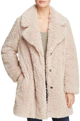 SAGE Collective Faux Fur Teddy Coat - 100% Exclusive $295 thestylecure.com