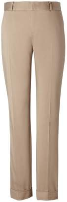 Banana Republic Avery Straight-Fit Sateen Pant with Cuff