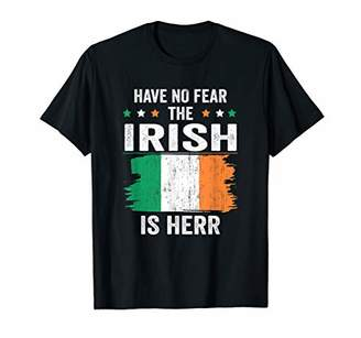 No Fear Have The Irish Is Here Tshirt Ireland Flag