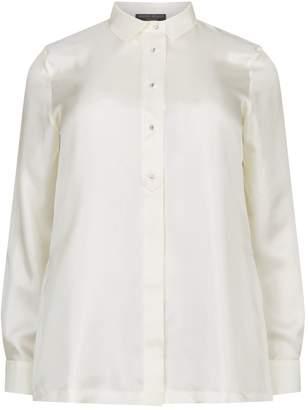 Marina Rinaldi Gemstone Button Shirt
