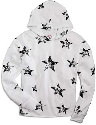 Flowers by Zoe Girls' Star-Print Hoodie with Grommets
