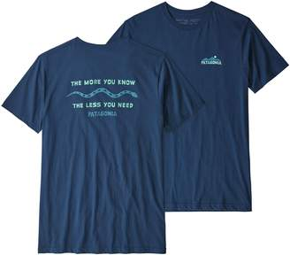 Patagonia Men's The Less You Need Organic Cotton T-Shirt
