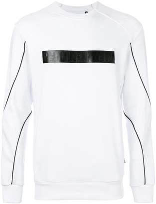 Philipp Plein branded patch sweatshirt