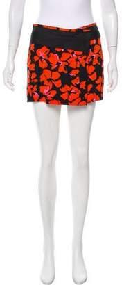 A.L.C. Silk Printed Shorts