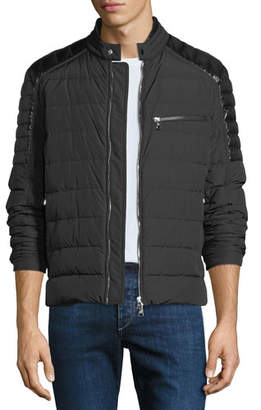 Moncler Men's Meylan Quilted Zip-Front Jacket