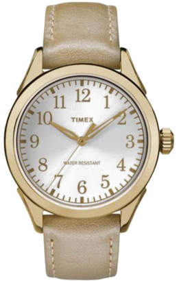 Timex Women's Leather Watch