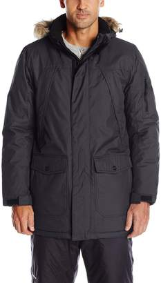 ZeroXposur Men's Ranger Mountain Parka with Faux Fur Trim