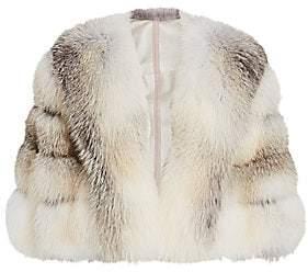 The Fur Salon Women's Fox Fur Cape