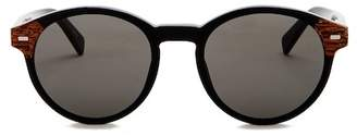 Ermenegildo Zegna 51mm Round Sunglasses
