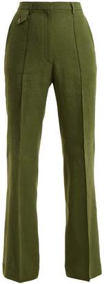 Golden Goose Wide-leg woven trousers