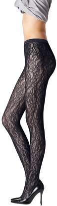 Fogal Women's Dita Lace Pantyhose
