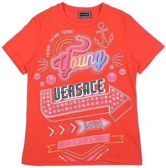 Versace YOUNG T-shirts - Item 12261738FJ